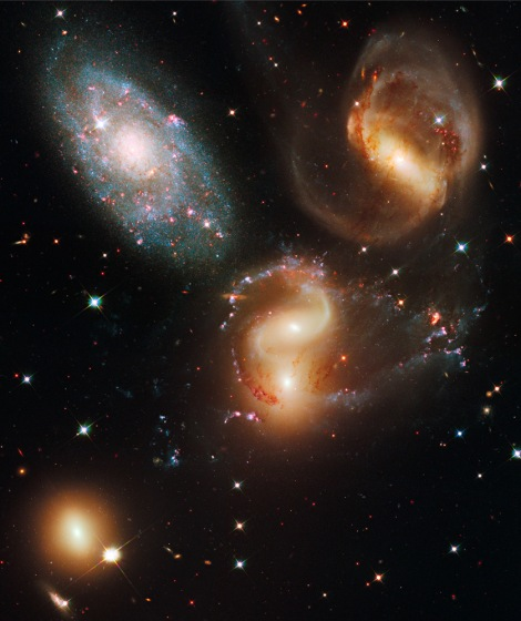 Stephan's Quintet (NASA - Hubble Space Telescope)
